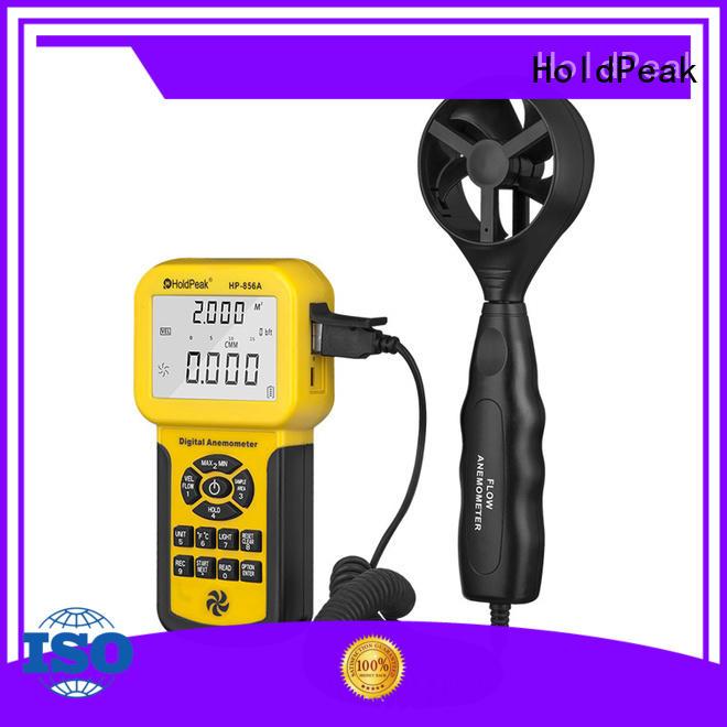 HoldPeak hp866bapp portable anemometer digital manufacturers for communcations