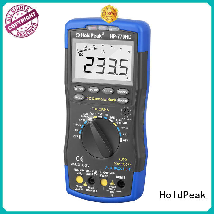 HoldPeak held automotive digital multimeter Supply for electrical