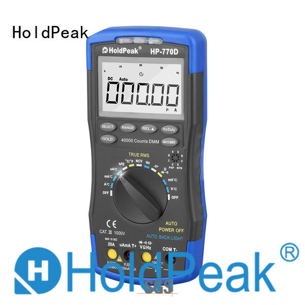 HoldPeak easy to use pen type multimeter for measurements