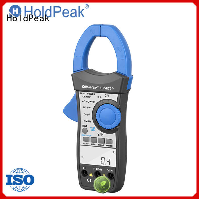 HoldPeak in different model current clamp meter digital for communcations for manufacturing