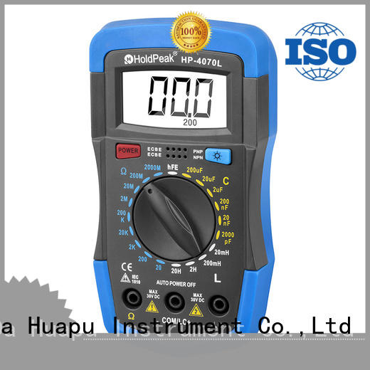 HoldPeak stable multimeter tester functions factory for electronic
