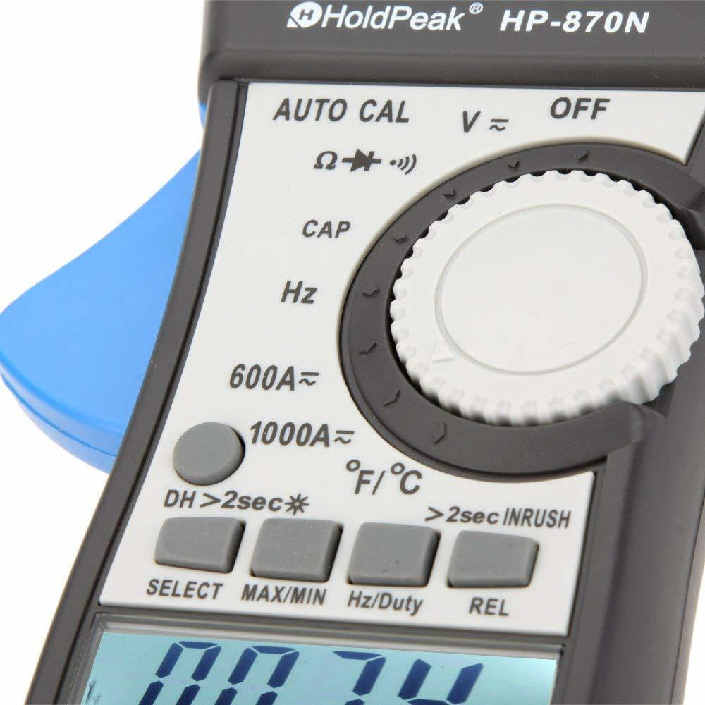 HoldPeak price clip multimeter factory for communcations for manufacturing-3