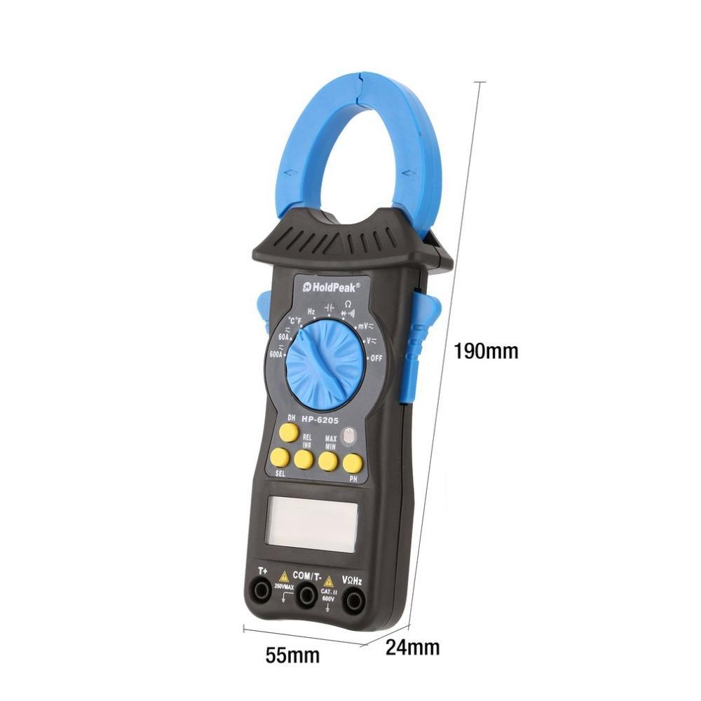 HoldPeak multimeter dc ammeter clamp on factory for smelting-2