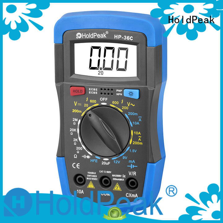 HoldPeak new arrival where can i buy a digital multimeter for business for electrical