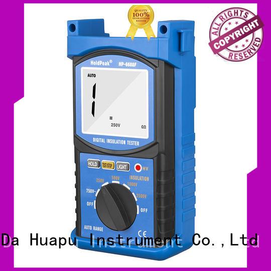 HoldPeak Top digital insulation tester manufacturers for maintenance