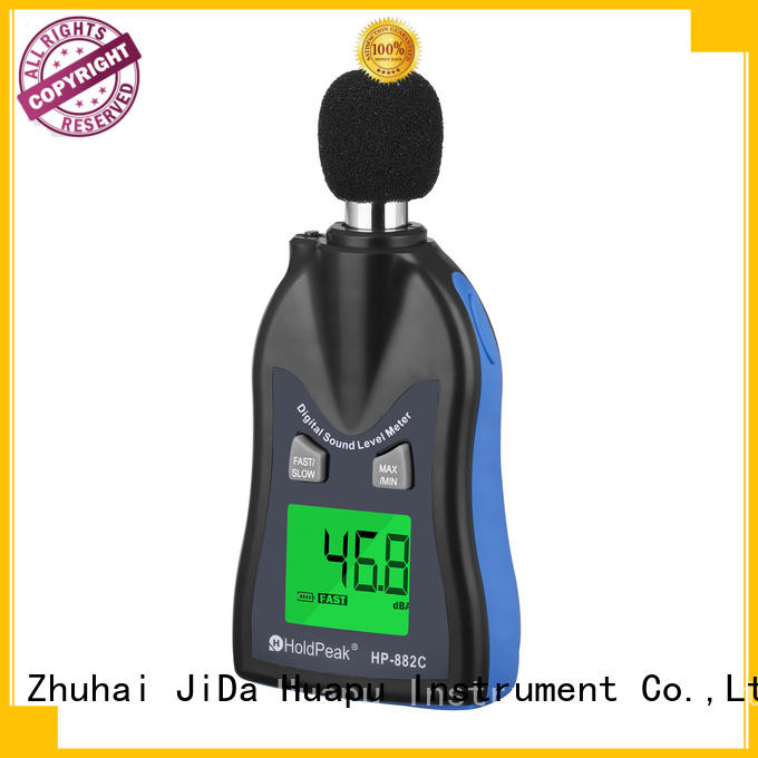 HoldPeak sound meter level manufacturers for measuring steady state noise