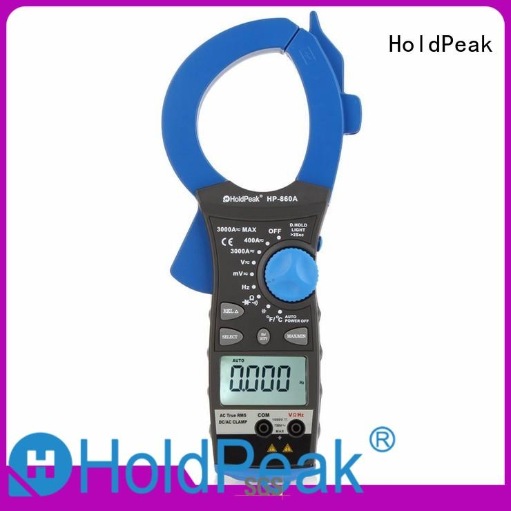 HoldPeak low clamp voltage meter Supply for communcations for manufacturing