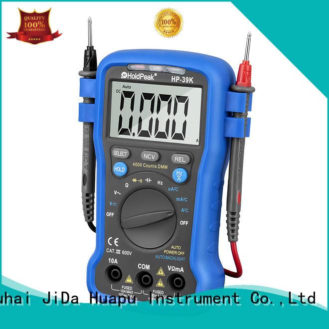 HoldPeak good looking standard multimeter buzzerdata for electronic