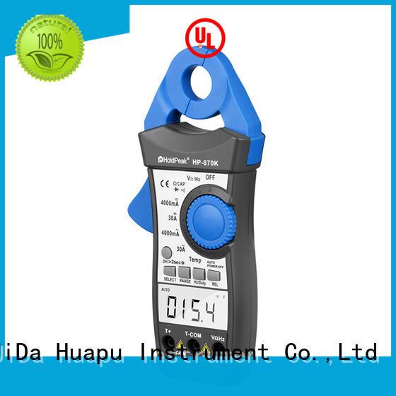 handheld clamp multimeter bulk promotion for communcations for manufacturing HoldPeak