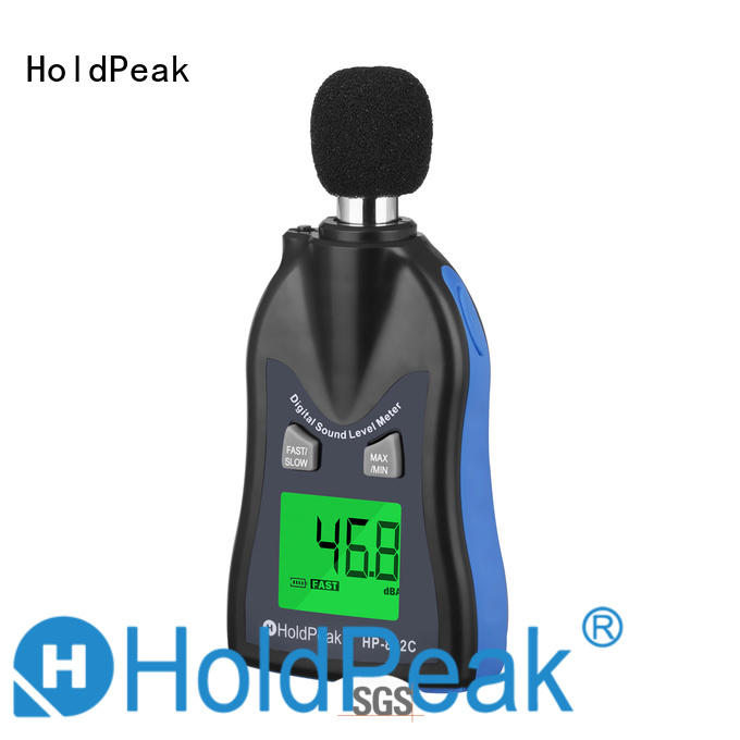 HoldPeak hot sale voice decibel meter Suppliers for measuring steady state noise