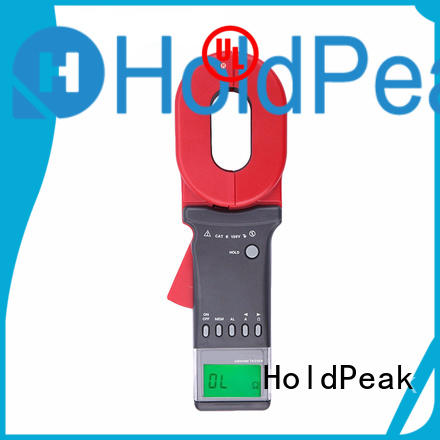 HoldPeak storage clamp on ground resistance tester from china for construction