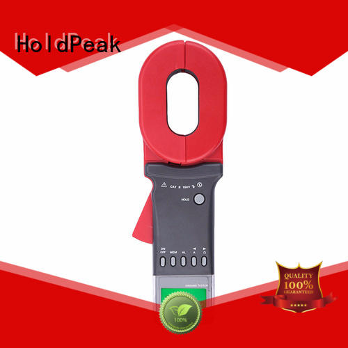 earth earth ground resistance tester for wholesale for meteorological HoldPeak