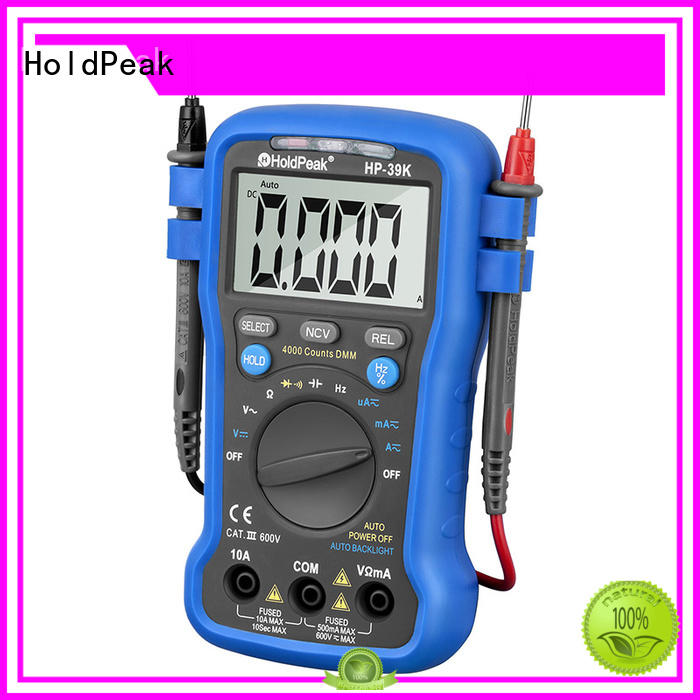 HoldPeak Latest multimeter wall outlet factory for testing