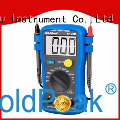 HoldPeak display auto multimeter for wholesale for measurements