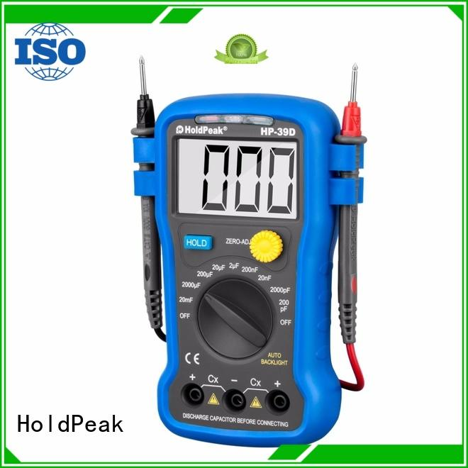 portable best digital multimeter for wholesale for testing HoldPeak