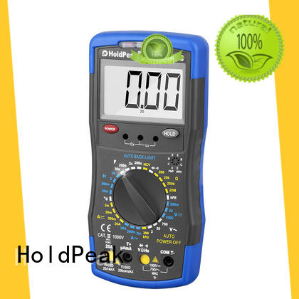 HoldPeak good looking auto multimeter software for physical