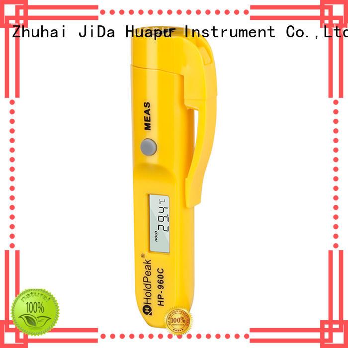 HoldPeak range digital infrared thermometer for business for inspection