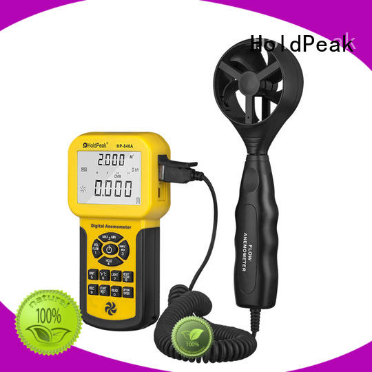HoldPeak portable wind speed metre Supply for manufacturing