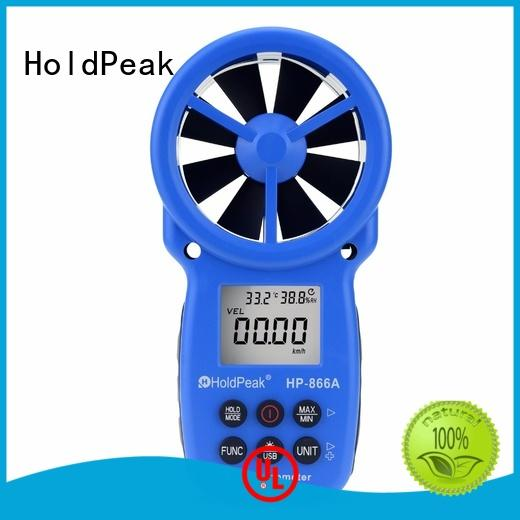 New digital wind speed meter chill Supply for tower crane