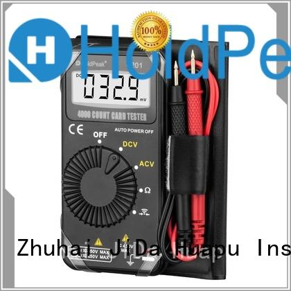 HoldPeak versatile commercial electric multimeter factory for electronic