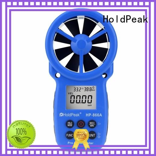 HoldPeak widely used wind gauge name for business for tower crane