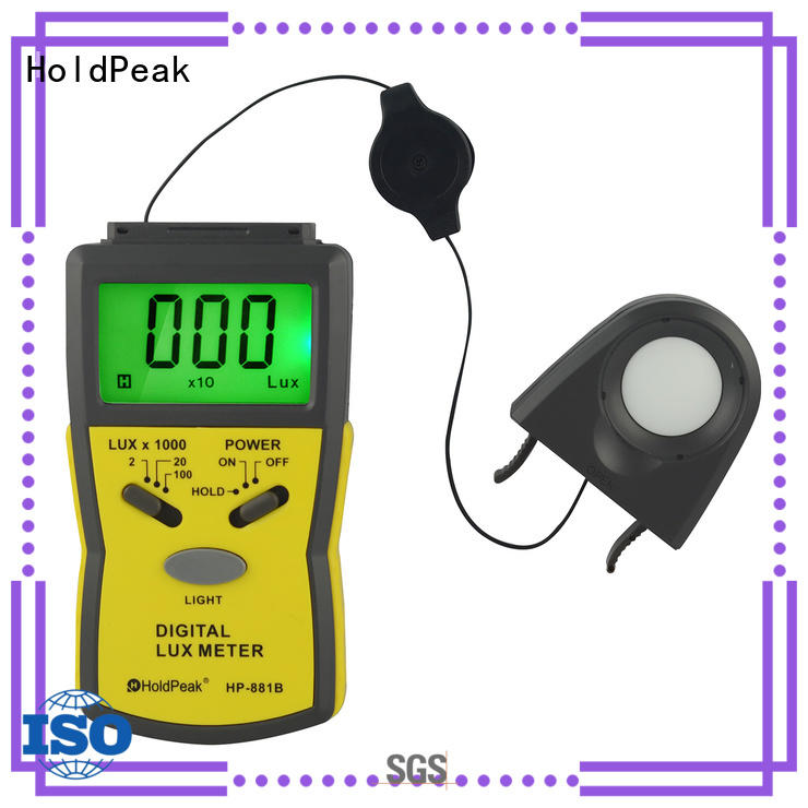 HoldPeak professional digital lux meter with many models for physical