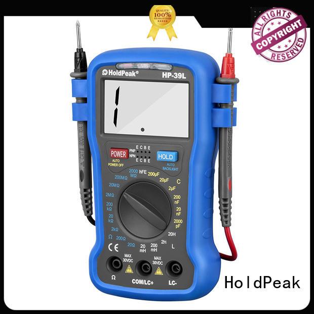 HoldPeak good looking handheld digital multimeter for wholesale for measurements