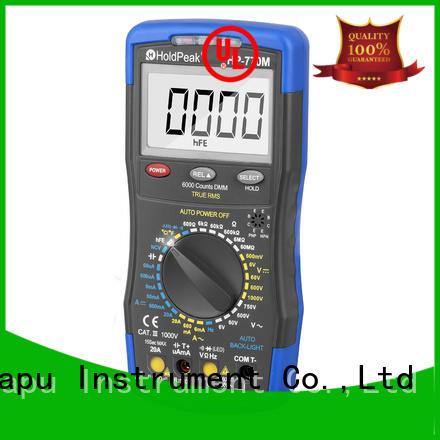 HoldPeak Custom small multimeter company for physical