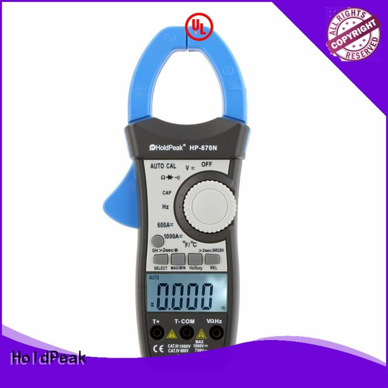 HoldPeak automatic leakage current clamp meter export for electricity chemical industries