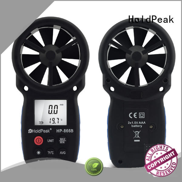 easy to carry professional anemometer hp846a manufacturers for tower crane