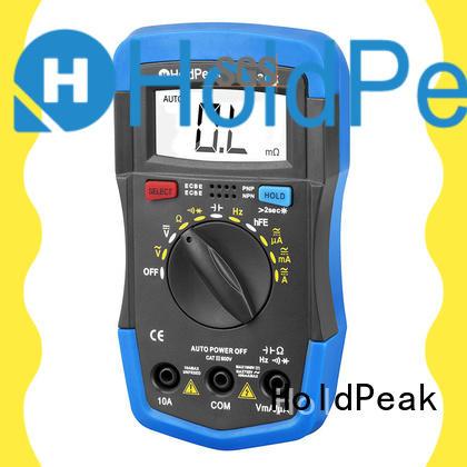 HoldPeak competetive price professional digital multimeter marketing for electronic