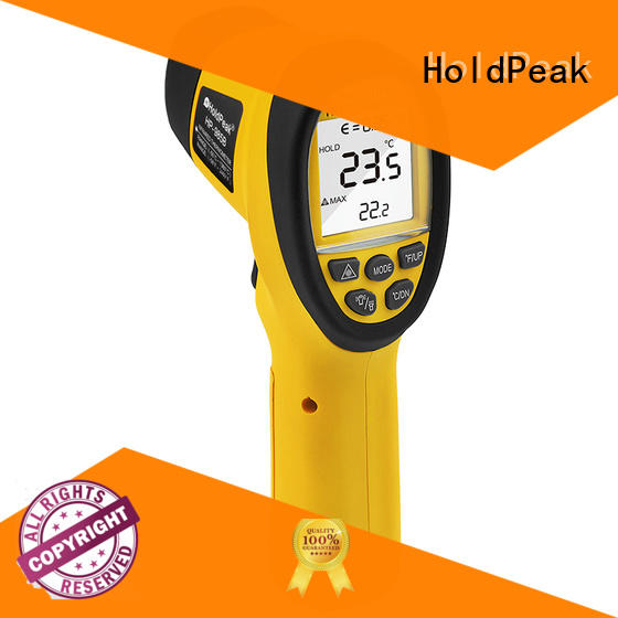 HoldPeak good-looking most accurate infrared thermometer Supply for industrial production
