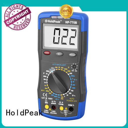6000 counts digit LCD monitor,digital multimeter with diode/hFE Test,HP-770B