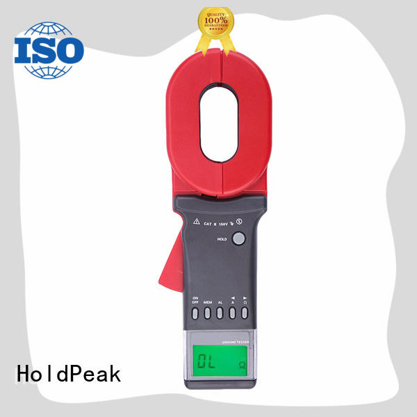 HoldPeak excellent digital earth tester manufacturers for oilfield