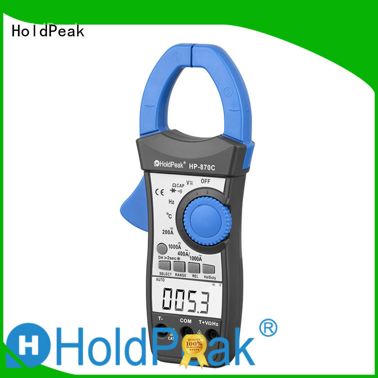 HoldPeak New clamp on meter working principle for business for national defense