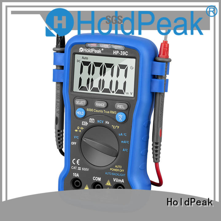 HoldPeak stable different types of digital multimeter manufacturers for electrical