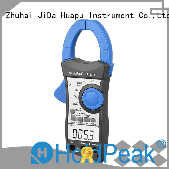 HoldPeak tester leakage current clamp meter Supply for electricity chemical industries