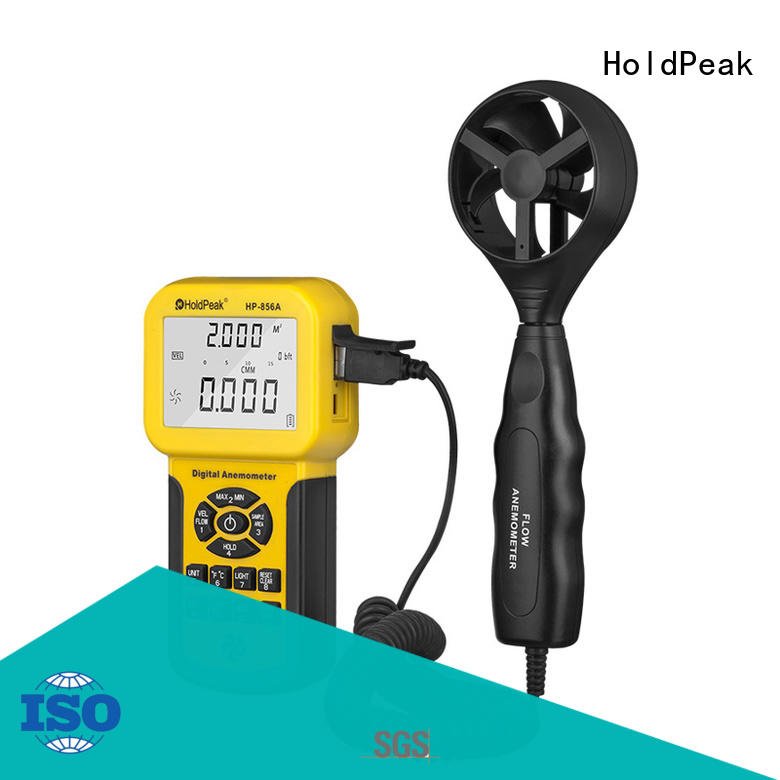 HoldPeak quality digital anemometer suppliers manufacturers for communcations