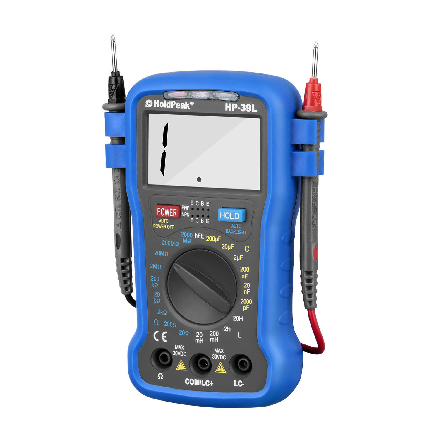 HoldPeak excellent commercial electric multimeter manufacturers for electrical-1