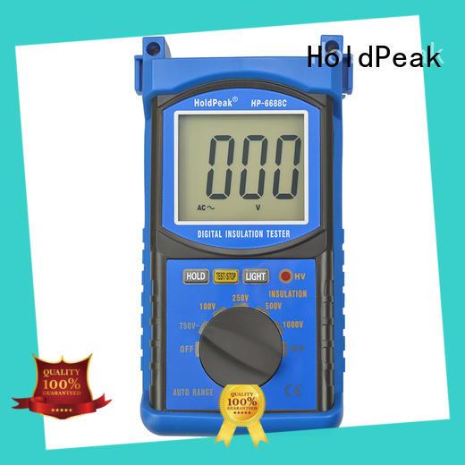 HoldPeak professional insulation resistance meter measurement for repair