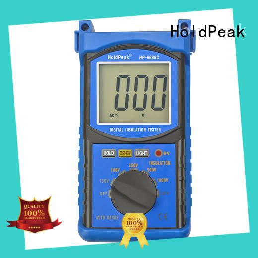 HoldPeak professional insulation resistance meter measurement for repair