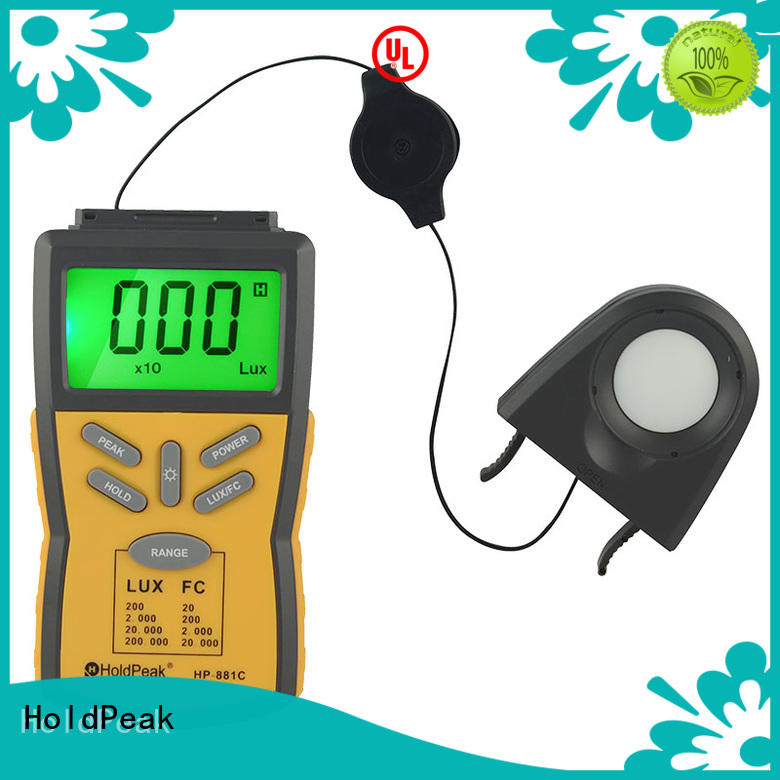 HoldPeak Latest top light meters Suppliers for electrical