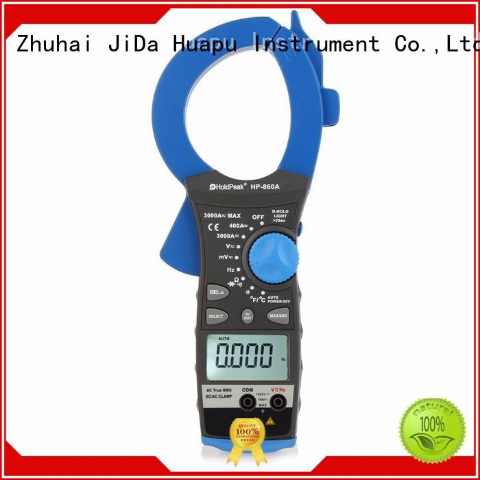 HoldPeak hp6205 dc clamp meter working principle factory for electricity chemical industries