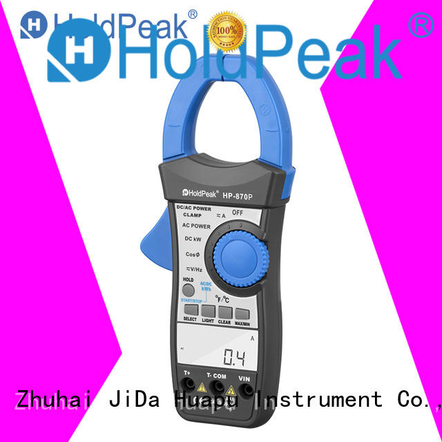HoldPeak competetive price clamp tester multimeter for communcations for manufacturing
