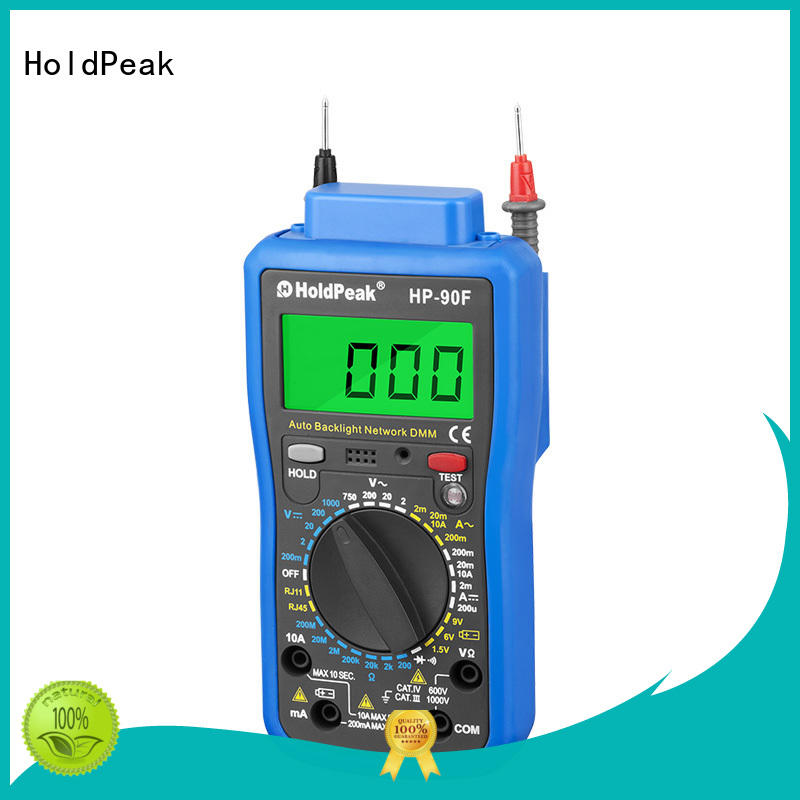 High-quality digital battery voltage meter backlight for business for physical