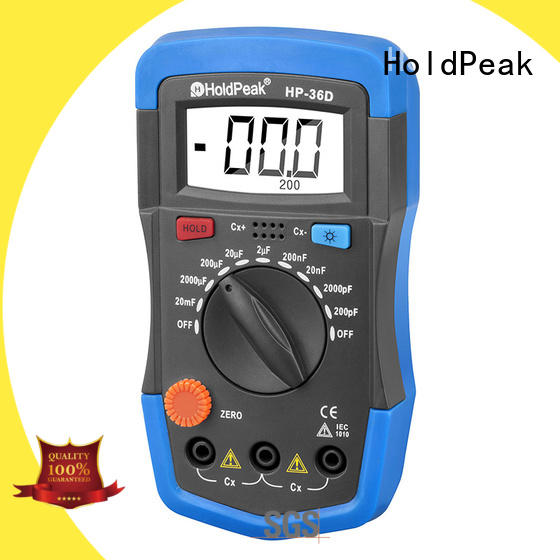 frequency test multimeter manufacturing for physical HoldPeak