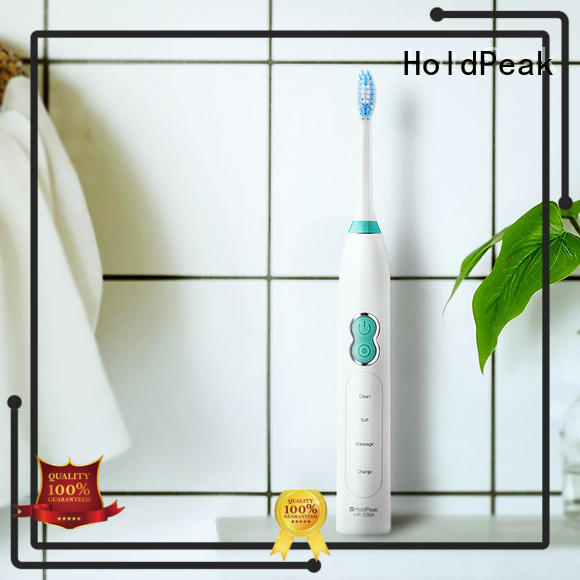 HoldPeak Wholesale ultra1sonic electric toothbrush manufacturers for man