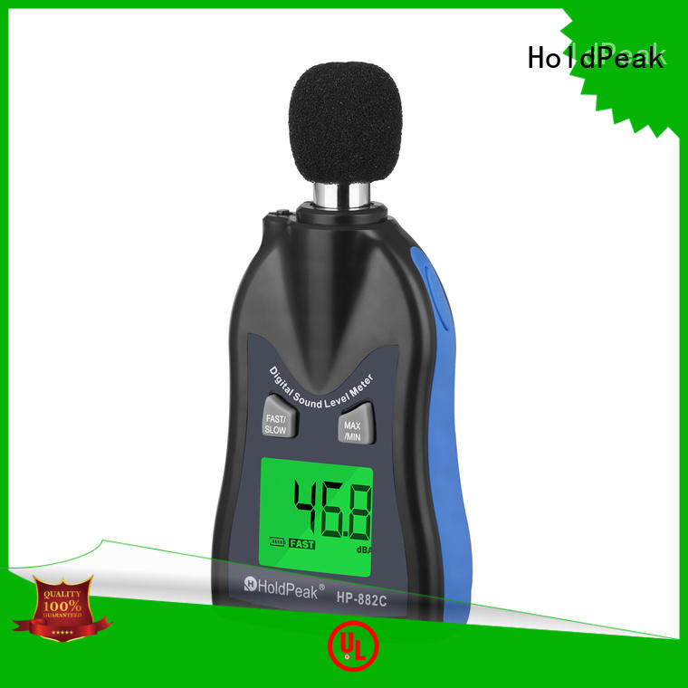 HoldPeak measurement measure sound level for business for measuring steady state noise