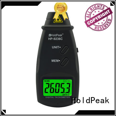 HoldPeak 70~99999rpm portable tachometer factory price for airplanes