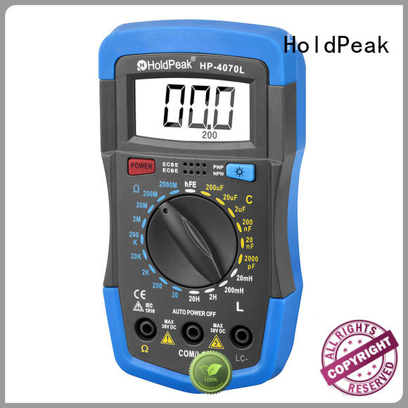HoldPeak High-quality industrial multimeter company for measurements